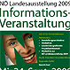 Ausschnitt aus dem Werbeplakat der Informationsveranstaltung